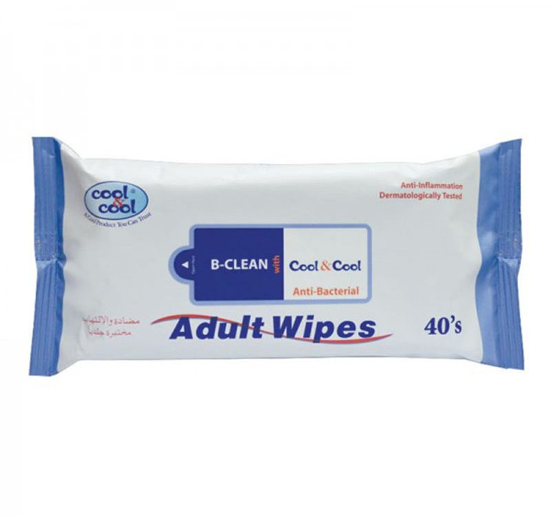 Adult Wipes 40's