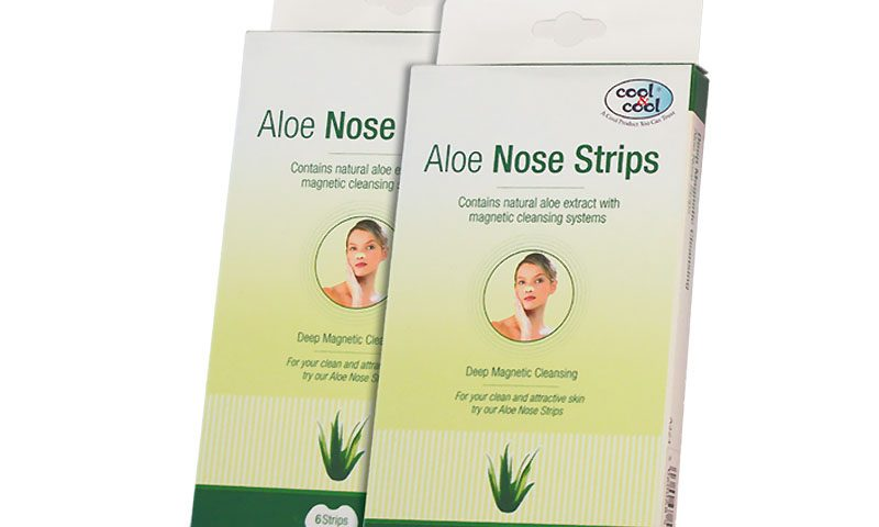 Aloe Nose Strips