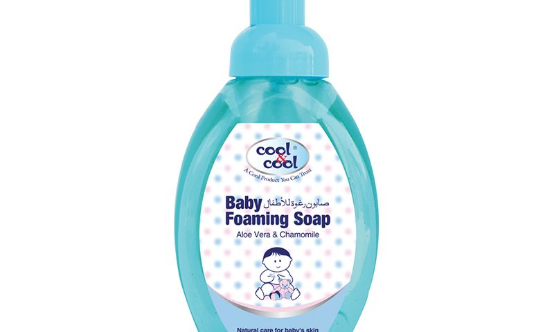 BABY FOAMING SOAP ALOE VERA & CHAMOMILE 350ML