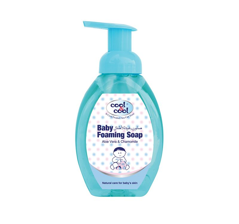 BABY FOAMING SOAP ALOE VERA & CHAMOMILE 350ML