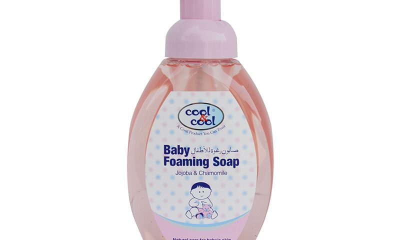 BABY FOAMING SOAP JOJOBA & CHAMOMILE 350ML