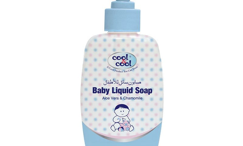 Baby Liquid Soap 250 ml Aloe Vera & Chamomile