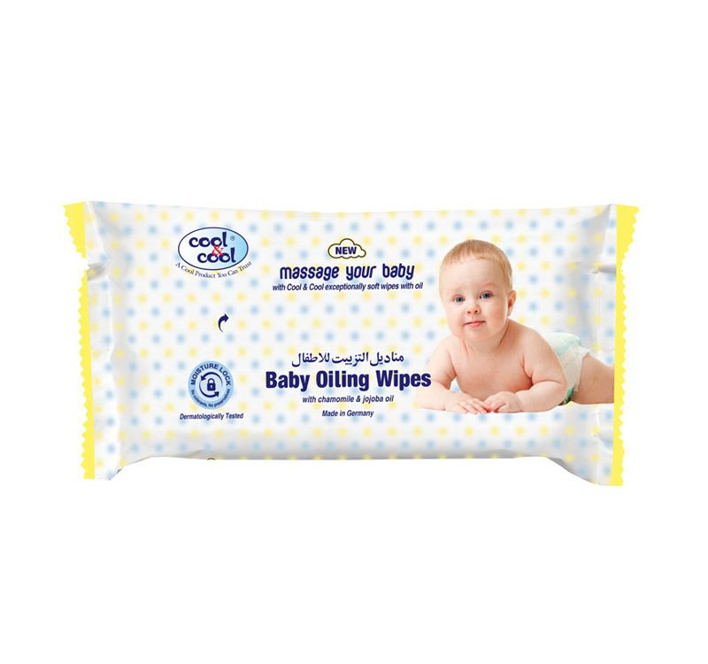 Baby Oiling Wipes