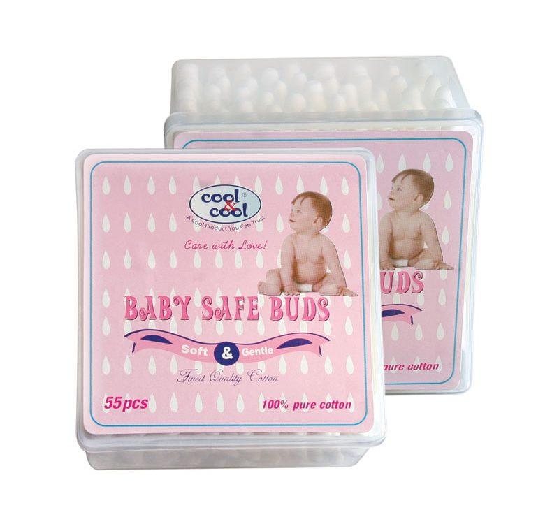 Baby Safe Buds 55 pcs