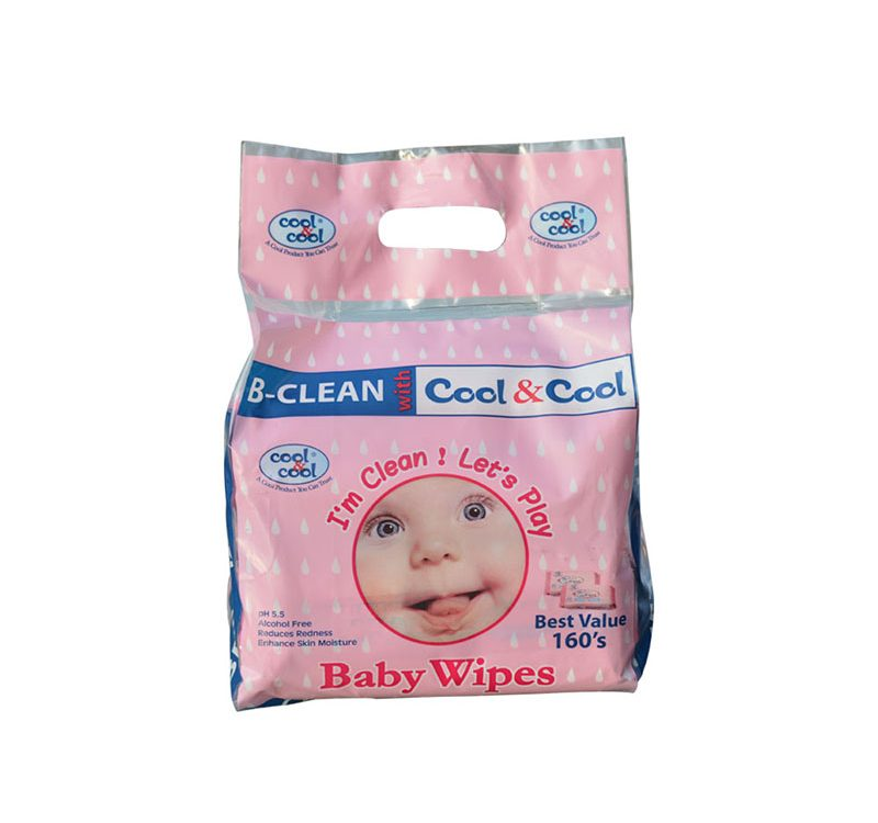 Baby Wipes 80's Twin Pack