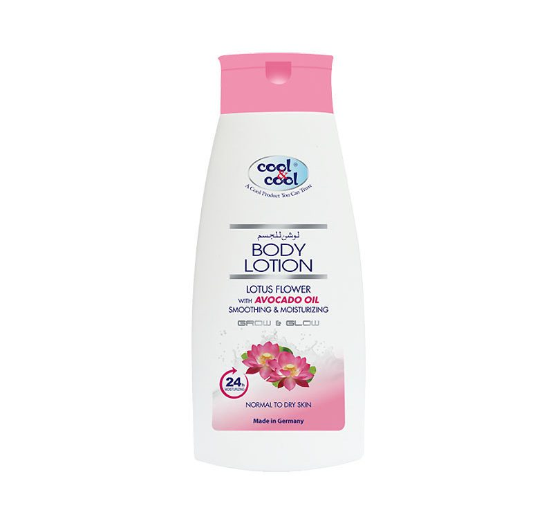 Body Lotion Lotus Flower