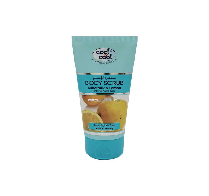 Body Scrub Buttermilk & Lemon 150ml