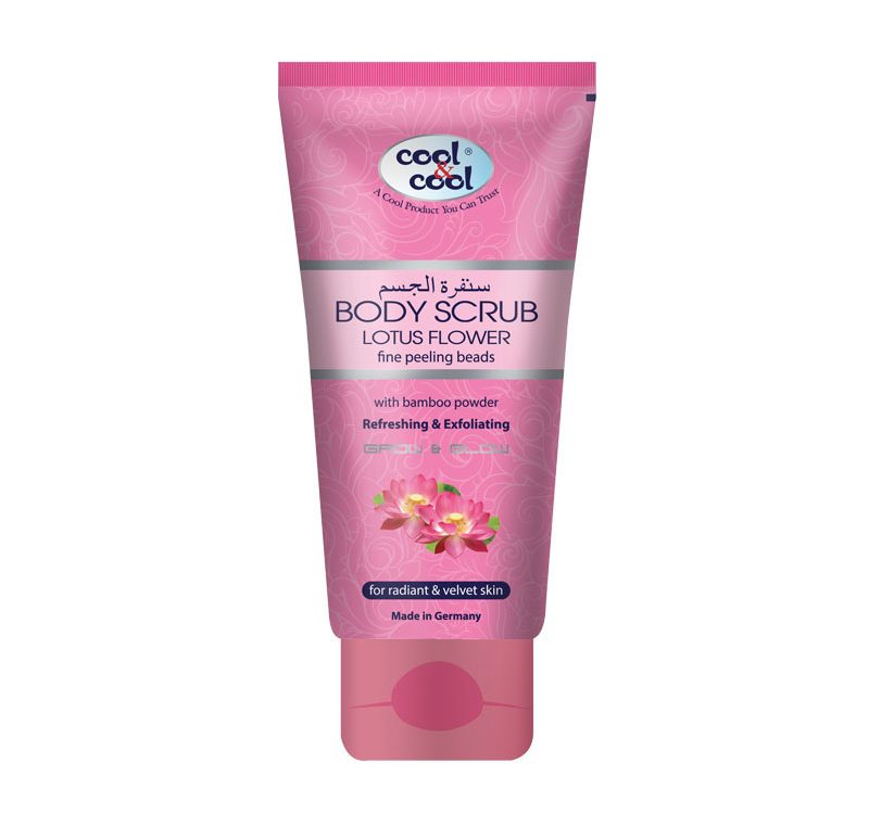 Body Scrub Lotus Flower