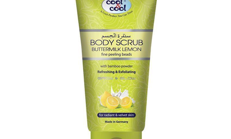 Body Scrub Mutter Milk Lemon