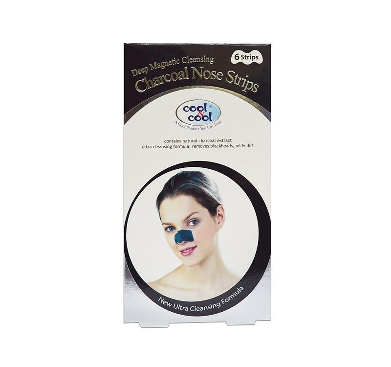 Charcoal Nose Strips 6 Strips