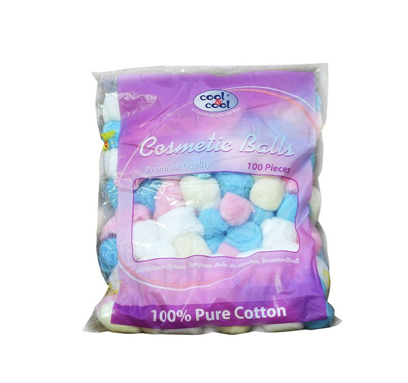 Cosmetic Balls Premium Quality 100's