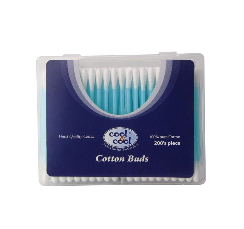 Cotton Buds Asstd Colours 200's