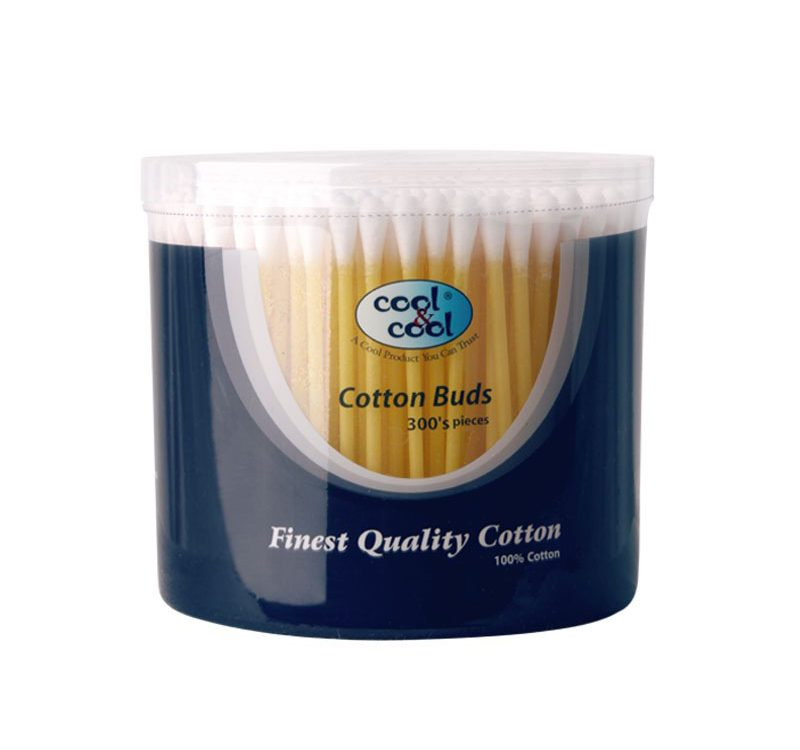 Cotton Buds Asstd Colours 300's