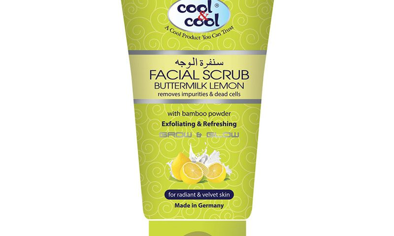 Facial Scrub Buttermilk Lemon 150ml