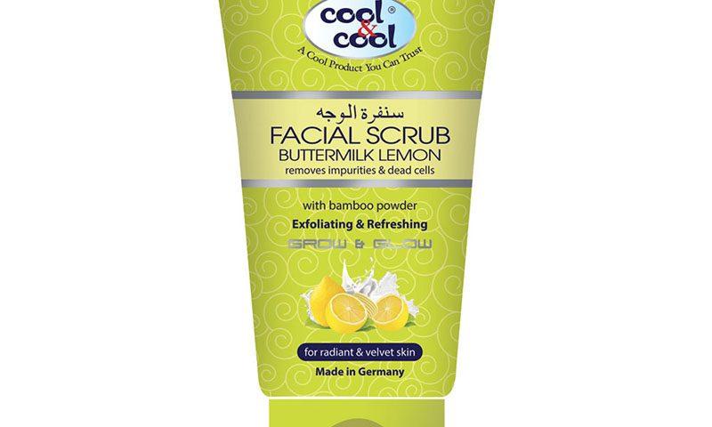 Facial Scrub Buttermilk Lemon 150ml
