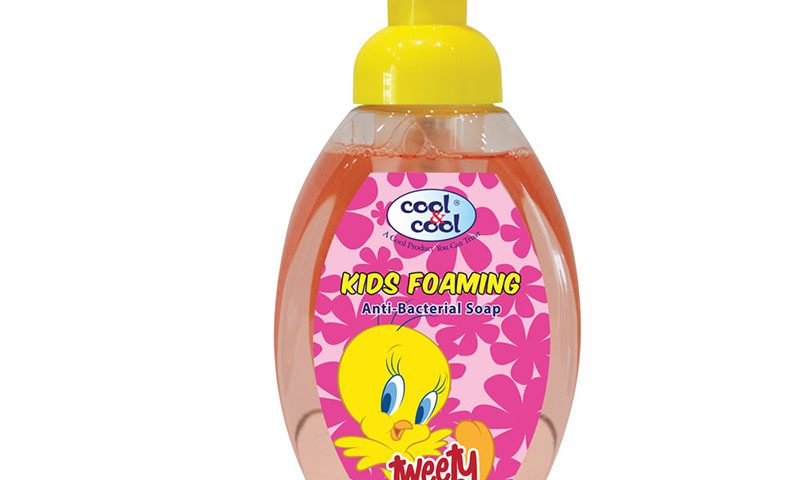 Kids Foaming Anti-Bacterial Soap Bugs Bunny Tweety 350ml