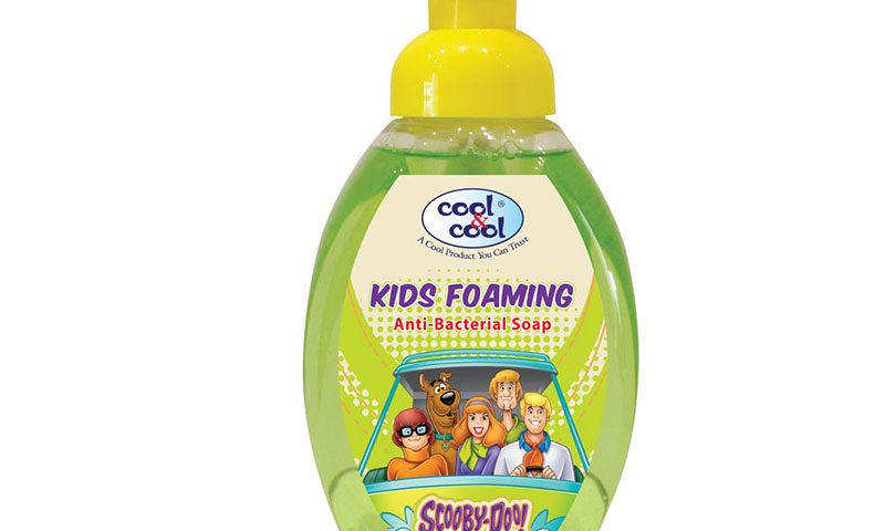 Kids Foaming Anti-Bacterial Soap Scooby-Doo 350ml