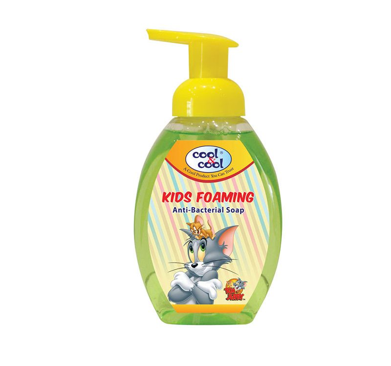 Kids Foaming Anti-Bacterial Soap Tom and Jerry B 350ml