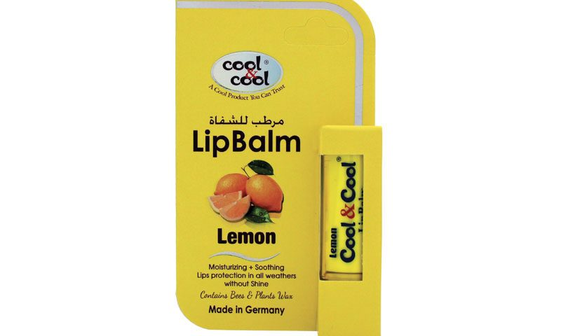 Lip Balm Lemon