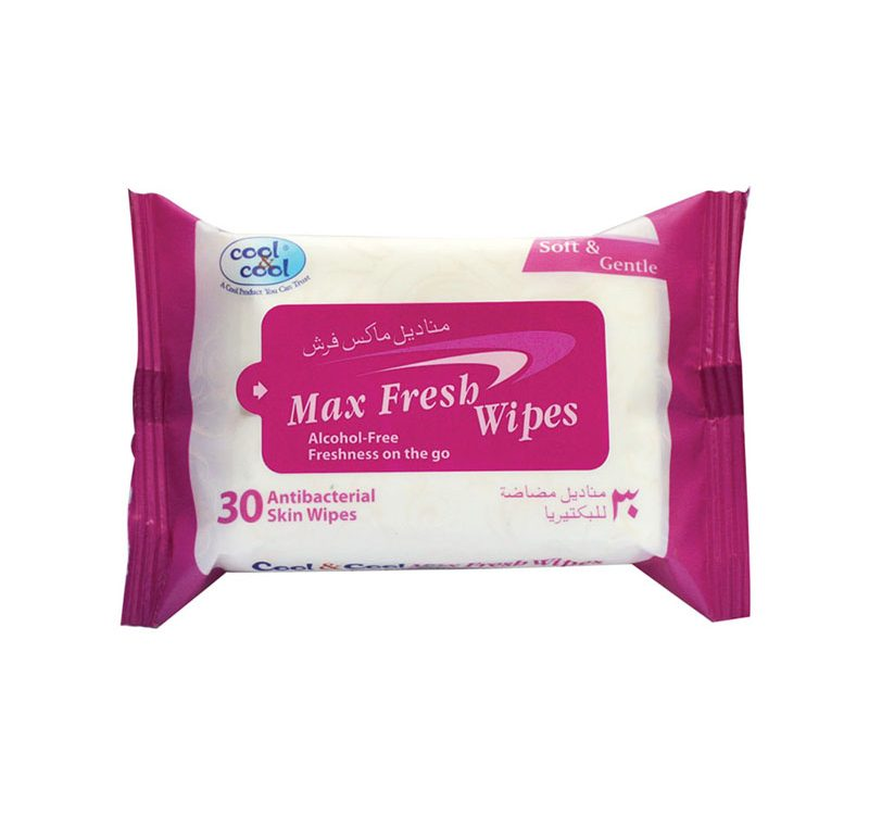 Max Fresh Wipes 30's