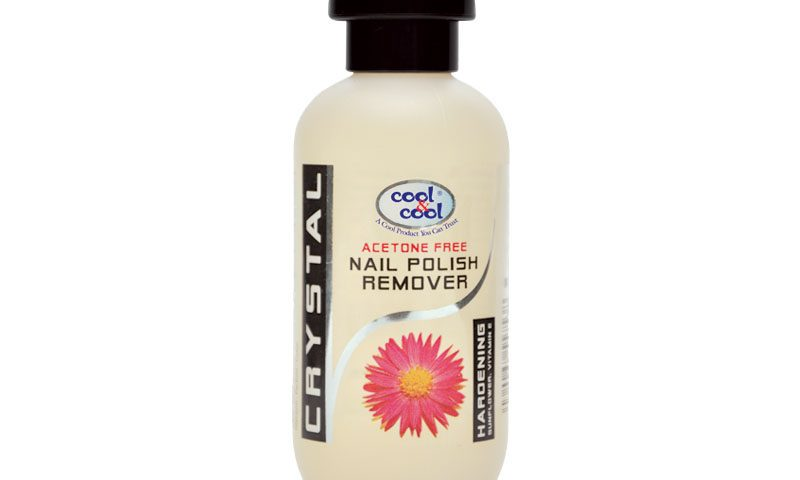 Nail Polish Remover Hardening