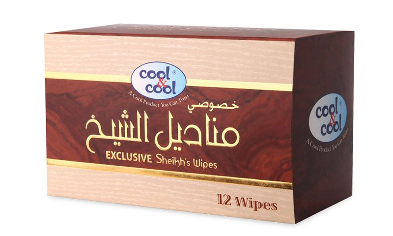 SHEIK'S WIPES SACHET 12'S