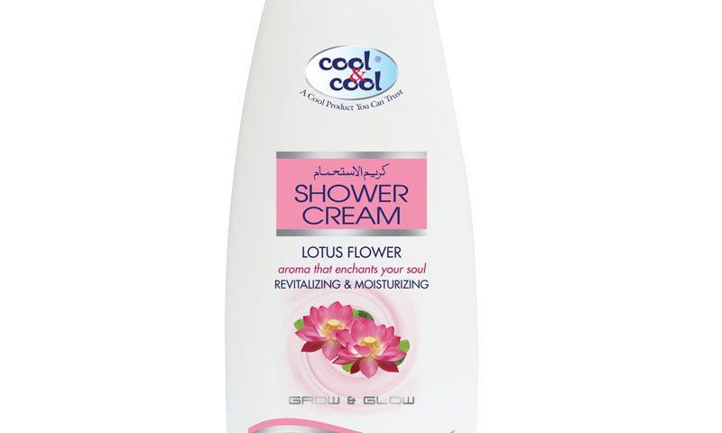 Shower Cream Lotus Flower