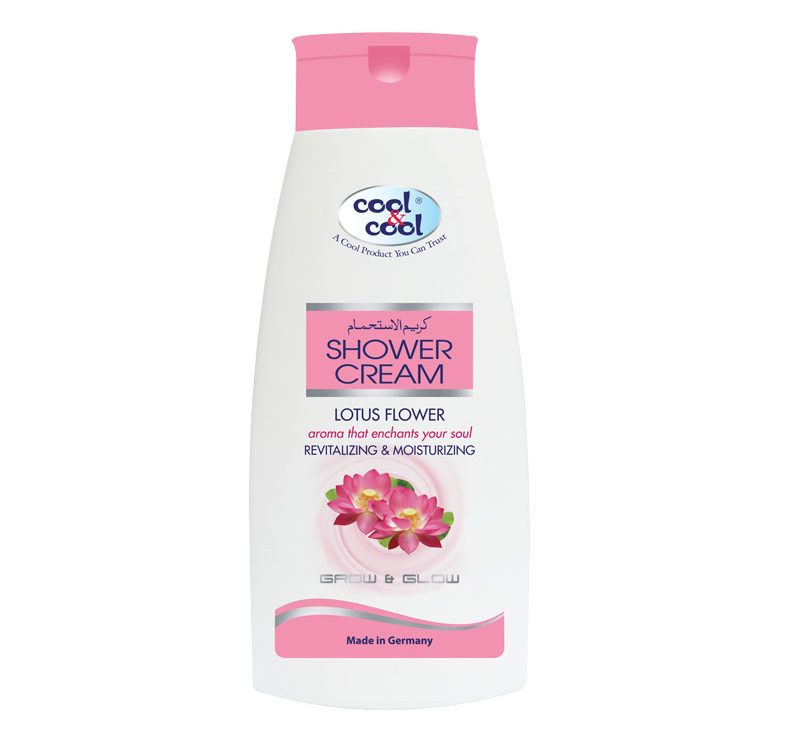 Shower Cream Lotus Flower