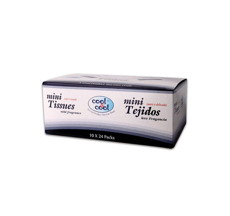 Compact Mini Tissues 10's (1X24 Box)