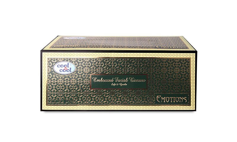 Embossed Facial Tissues Soft & Gentle Emotions