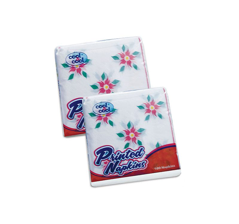 Luxury Paper Napkins Printed 100s