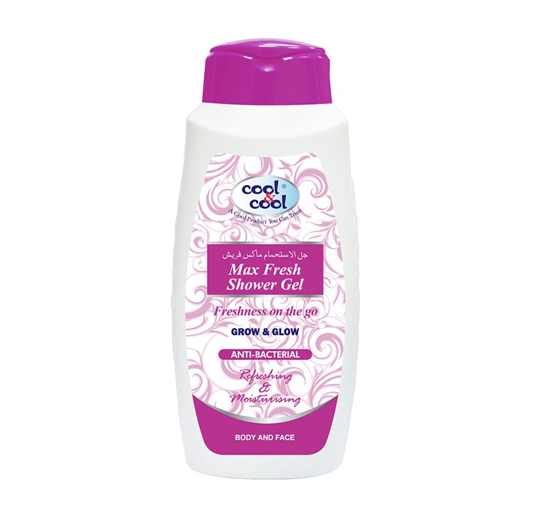 Max Fresh Shower Gel - Anti-Bacterial 500ml