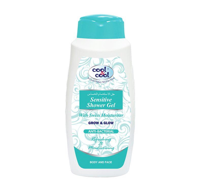 Sensitive Shower Gel - Anti-Bacterial 500ml