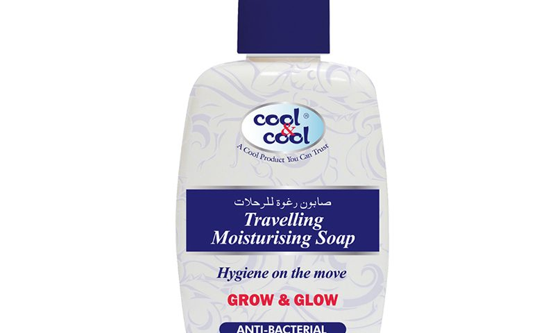 Travelling Moisturising Soap - Anti-Bacterial 250ml