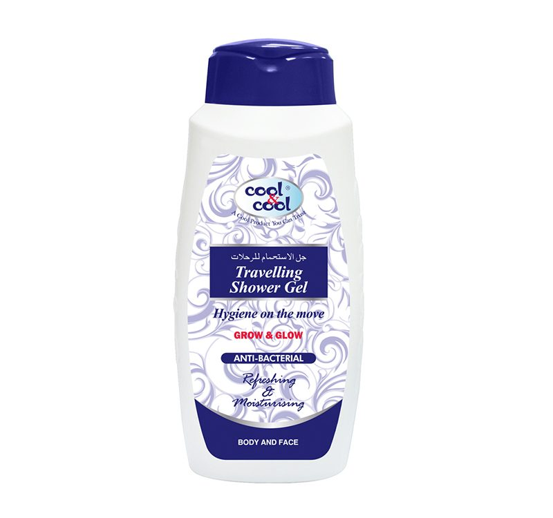Travelling Shower Gel - Anti-Bacterial 500ml